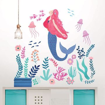 Picture of Let's Be Mermaids Wall Art Kit