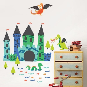 Picture of Lucky Dragons Wall Art Kit