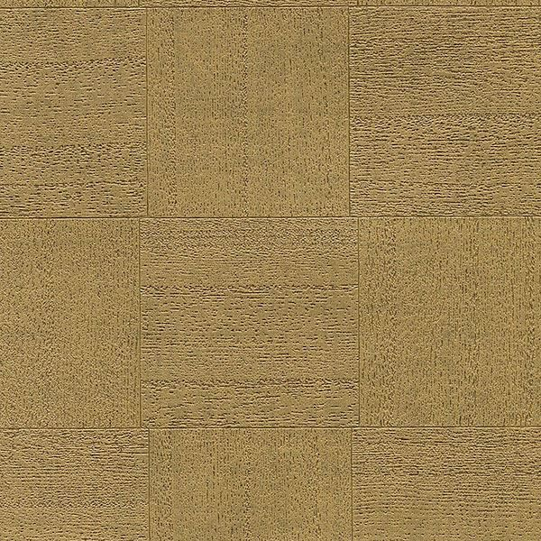 Picture of Larue Gold Block Wallpaper