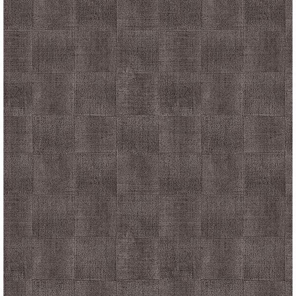 Picture of Larue Brown Block Wallpaper