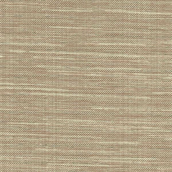 Picture of Bay Ridge Chestnut Faux Grasscloth Wallpaper