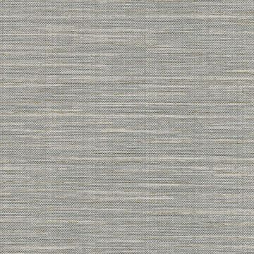 Picture of Bay Ridge Grey Faux Grasscloth Wallpaper