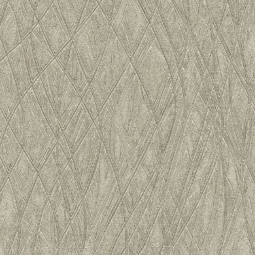 Picture of Allegro Silver Embossed Wallpaper
