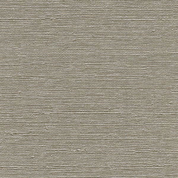 Picture of Aspero Taupe Faux Grasscloth Wallpaper