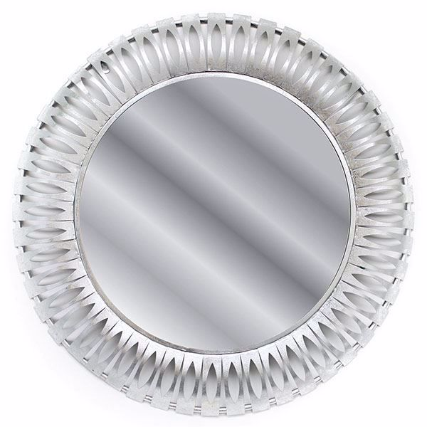 Picture of Elam Silver Round Mirror