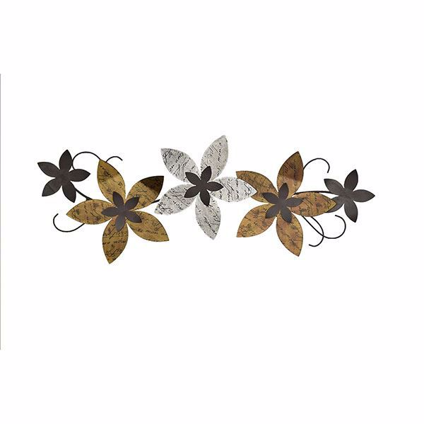 Picture of Rusten Floral Metal Wall Art