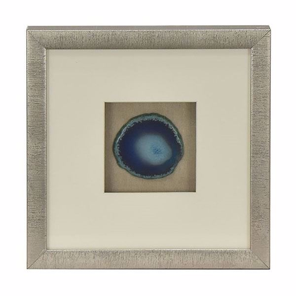 Picture of Blue Agate Shadowbox, Small