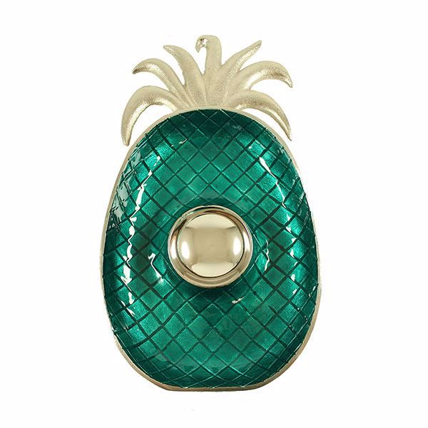 Picture of Turquoise Pineapple Dip Tray