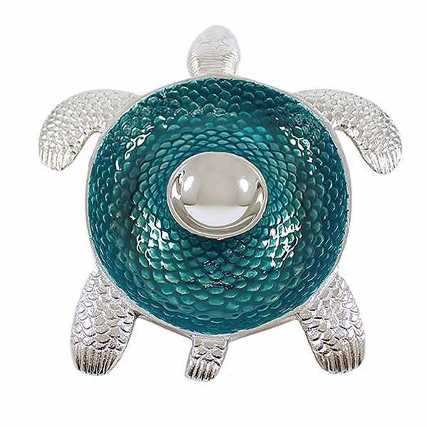 Picture of Teal Turtle Dip Tray