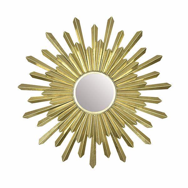 Picture of Bembury Gold Sunburst Mirror