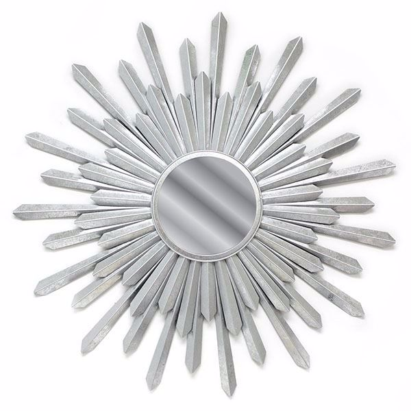 Picture of Bembury Silver Sunburst Mirror