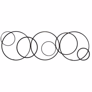 Picture of Ruth Abstract Circles Metal Wall Art