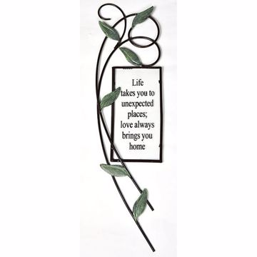 Picture of Seraphina Metal Wall Art Quote