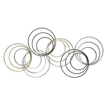 Picture of Wylber Rings Metal Wall Art
