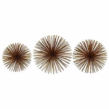 Picture of Burrill Brass 3 Piece Starburst Set
