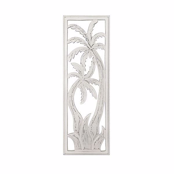 Zanda Carved Palm Tree Panel