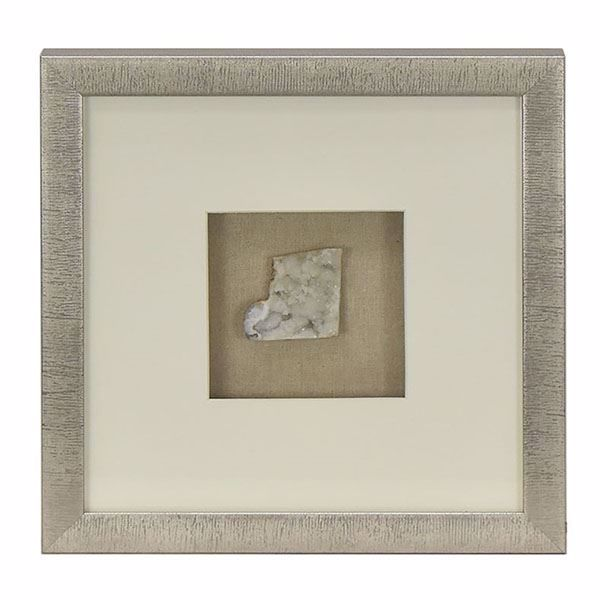 Picture of White Quartz Shadowbox, Large