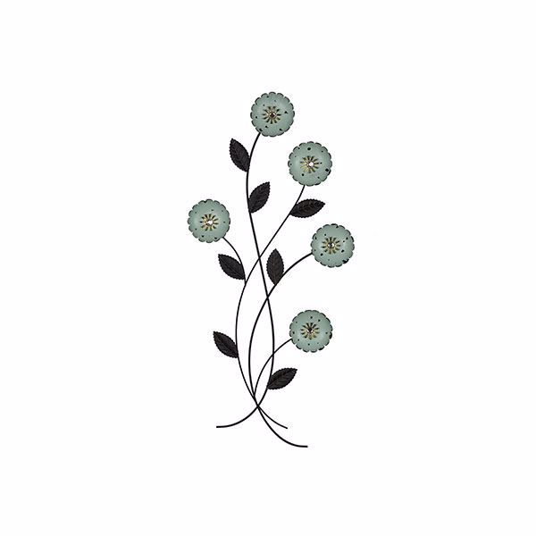 Picture of Izara Floral Metal Wall Art