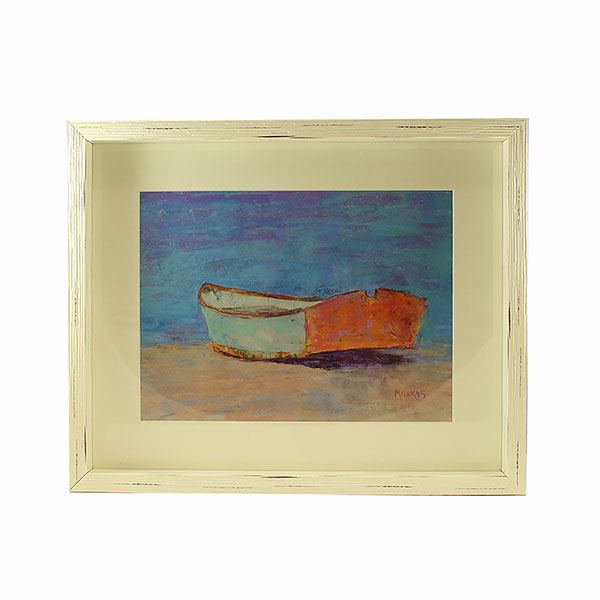 Picture of Milukas Boat Framed Print