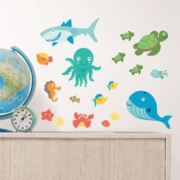 Picture of Sea Life Wall Stickers