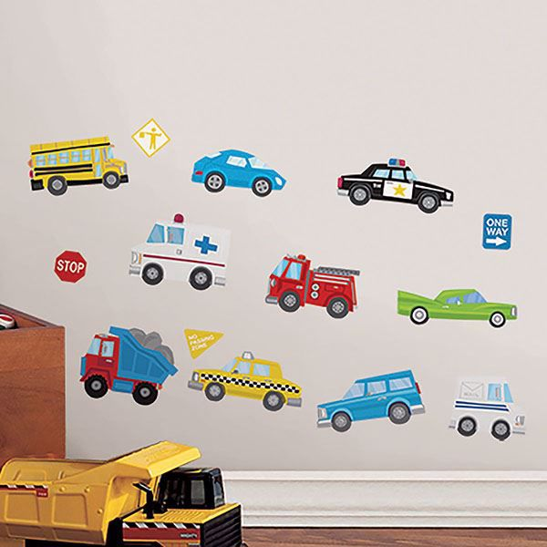 Picture of To The Rescue Wall Stickers