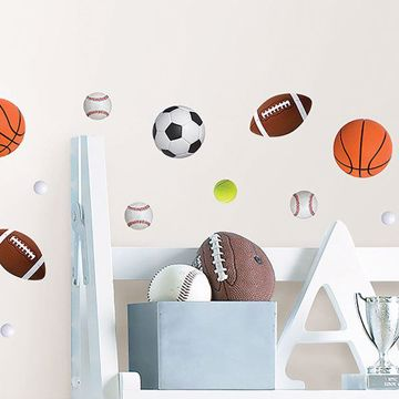 Picture of Team Player Wall Stickers