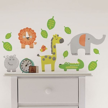 Picture of Jungle Buddies Wall Stickers