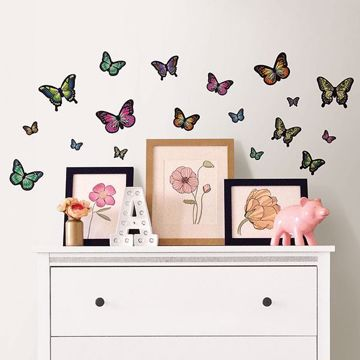 Picture of Butterfly Wings Wall Stickers