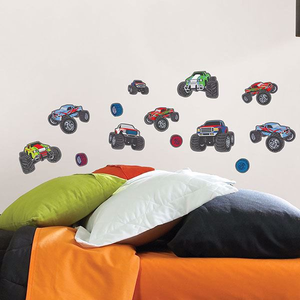 Picture of Mega Trucks Wall Stickers