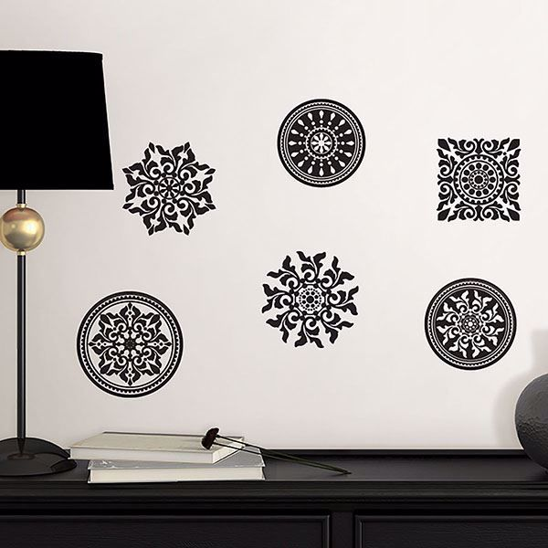 Picture of Riya Medallions Wall Stickers