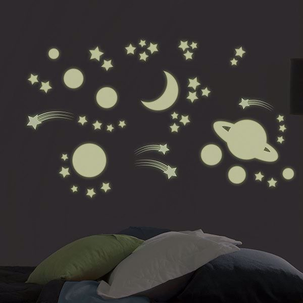 Picture of Another Planet  Wall Stickers