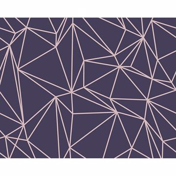 Picture of Purple Vertex Wall Mural
