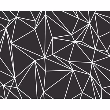 Picture of Black Vertex Wall Mural