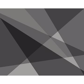 Picture of Grey Geometry Wall Mural