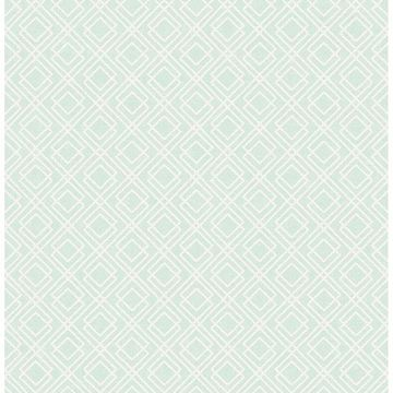 Picture of Napa Mint Geometric Wallpaper