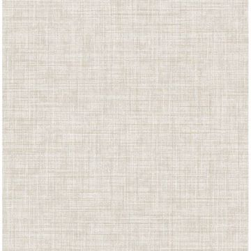 Picture of Mendocino Neutral Linen Wallpaper