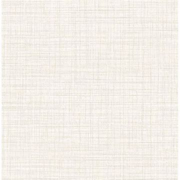Picture of Mendocino Eggshell Linen Wallpaper