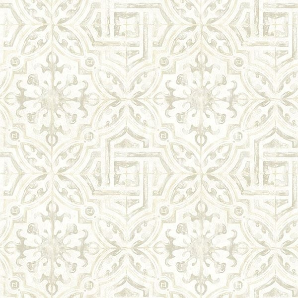 Picture of Sonoma Grey Spanish Tile Wallpaper
