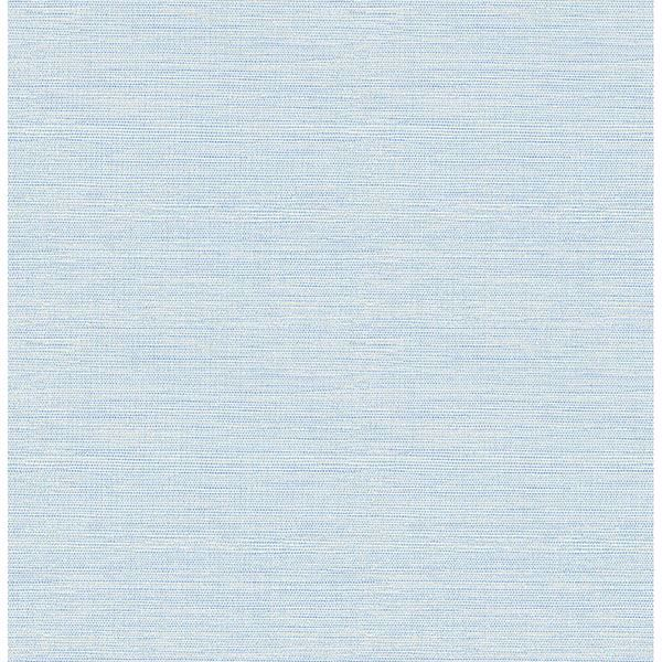 Picture of Agave Sky Blue Grasscloth Wallpaper