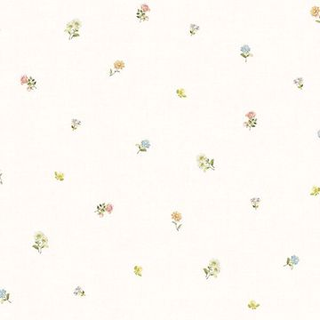Picture of Bloom Toss Multicolor Floral Wallpaper
