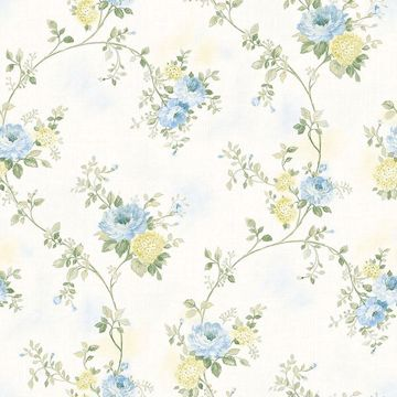 Picture of Mimosa Blue Trail Wallpaper