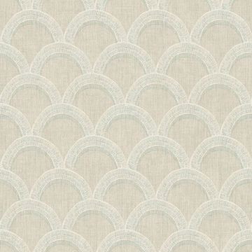 Picture of Bixby Khaki Geometric Wallpaper
