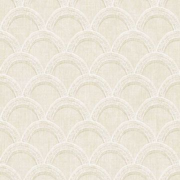 Picture of Bixby Beige Geometric Wallpaper