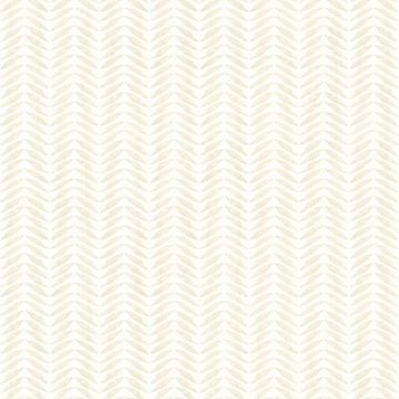 Picture of Espalier Champagne Chevron Stripe Wallpaper