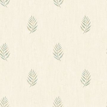 Picture of Vista Olive Leaf Wallpaper