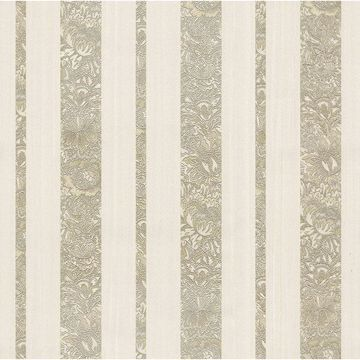Picture of Certosa Gold Floral Stripe Wallpaper