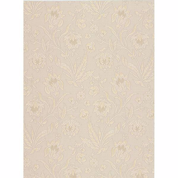 Picture of Torcello Beige Floral Wallpaper