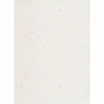Picture of Torcello Platinum Floral Wallpaper