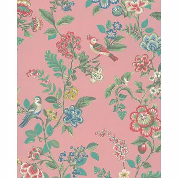 Picture of Willem Blush Painted Garden Wallpaper