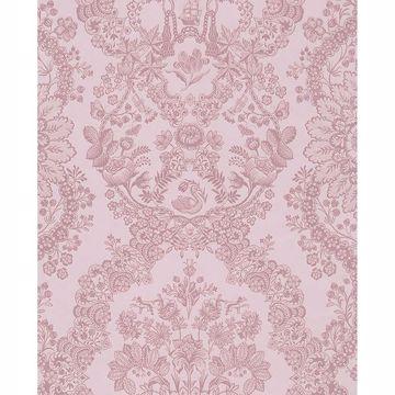 Picture of Grillig Light Pink Damask Wallpaper